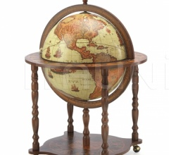 "Large Bar Globe with Classic Zoffoli design ""Dedalo"" - Safari"