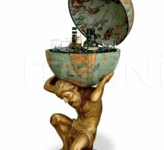"""""""Atlas"""" statue bar globe - Laguna"""