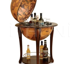 "Aristocratic bar globe with shelf  ""Atena"" - Classic"