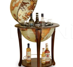"Aristocratic bar globe with shelf ""Atena"" - Safari"
