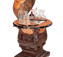 "Bar globe with refrigerator ""Poseidone"""