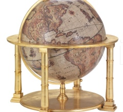 "Exclusive wooden globe ""Colosso"" - Gold"