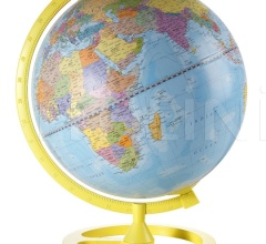 """Colour Circle"" educational desk globe - Yellow"