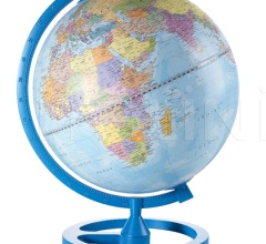 """Colour Circle"" educational desk globe - Sky Blue"
