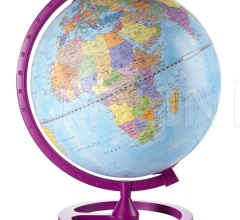 """Colour Circle"" educational desk globe - Cherry"