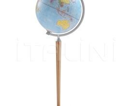 """Vasco da Gama"" floorstanding globe - Natural"