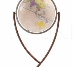 """Colombo 60"" contemporary design floorstanding globe - Pink Political"
