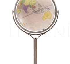 """Magellano 60"" political floorstanding globe - Pink Political"