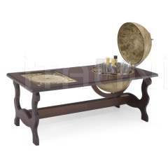"""Terra"" cocktail table with bar"