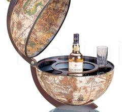 """Sfera 42"" desk bar globe - Ivory"