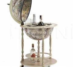 """Tucano"" elegant floor standing bar globe"