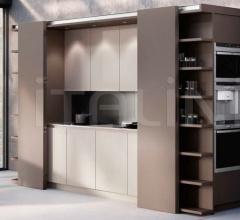 Итальянские кухни с островом - Кухня Metamorphosis фабрика Linea Quattro