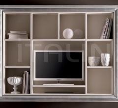 Книжный шкаф под ТВ  Zoe 566 фабрика CorteZari