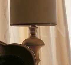 Итальянские настольные светильники - Настольный светильник Gemma-Roll 1438-R фабрика CorteZari