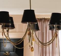 Итальянские люстры - Люстра Tiffany 1450 фабрика CorteZari