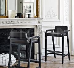 Итальянские барные стулья - Барный стул Fulgens фабрика Maxalto (B&B Italia)