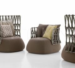 Итальянские уличные кресла - Кресло FAT-SOFA фабрика B&B Italia