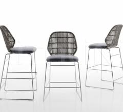 Итальянские барные стулья - Барный стул CRINOLINE фабрика B&B Italia