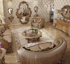 Трехместный диван 9163 фабрика Riva Mobili D`Arte