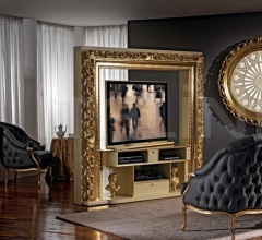Стойка под TV REVOLVING HOME CINEMA BAROQUE фабрика Vismara Design