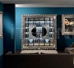 Настенное зеркало FRAME - 120 BAROQUE MIRROR фабрика Vismara Design