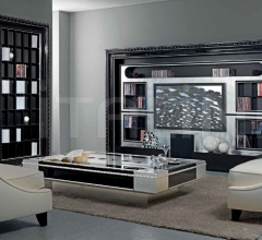 Книжный стеллаж FRAME - 214 CLASSIC фабрика Vismara Design