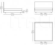 Кровать Oltre Flexform