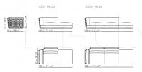 Модульный диван Cestone Flexform