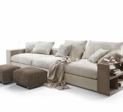 Модульный диван Groundpiece фабрика Flexform