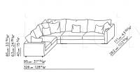Модульный диван Magnum Flexform