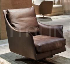 Вращающееся кресло Boss фабрика Flexform