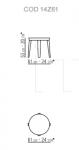 Кофейный столик Dida Flexform