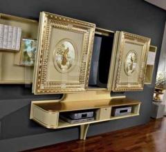 Стойка под TV SLIDING HOME CINEMA ART DECO фабрика Vismara Design