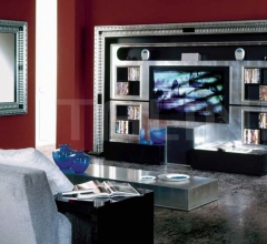 Стойка под TV THE WALL HOME CINEMA ART DECO фабрика Vismara Design