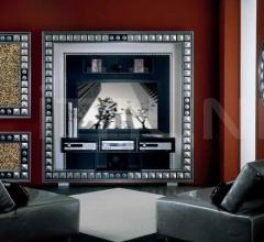 Настенное зеркало BODY ROUND MIRROR PIRAMID фабрика Vismara Design