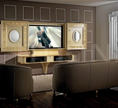 Стойка под TV SLIDING HOME CINEMA GOLD EYES фабрика Vismara Design