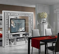 Стойка под TV REVOLVING HOME CINEMA SILVER EYES фабрика Vismara Design