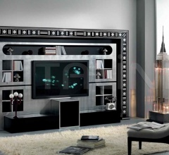 Стойка под TV THE WALL HOME CINEMA GLASS EYES фабрика Vismara Design