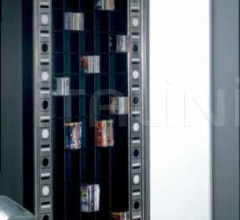 Книжный стеллаж FRAME 214 GLASS EYES фабрика Vismara Design