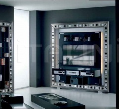 Стойка под TV THE FRAME HOME CINEMA GLASS EYES фабрика Vismara Design