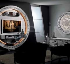 Стойка под TV STAR GATE SILVER EYES фабрика Vismara Design