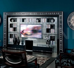 Стойка под TV THE WALL HOME CINEMA SILVER EYES фабрика Vismara Design