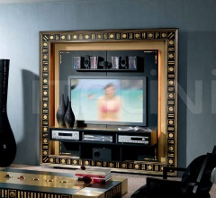 Стойка под TV THE FRAME HOME CINEMA GOLD EYES фабрика Vismara Design