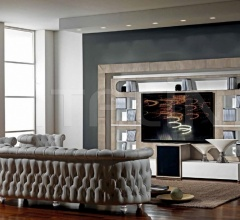Стойка под TV THE WALL HOME CINEMA FRAME MODERN фабрика Vismara Design