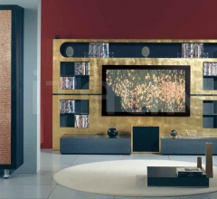 Стойка под TV THE WALL HOME CINEMA MODERN фабрика Vismara Design