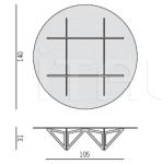 Столик журнальный Origami Porada