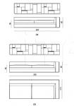 Модульный диван Babylon IPE Cavalli (Visionnaire)