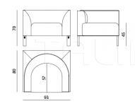 Модульный диван Capitol IPE Cavalli (Visionnaire)