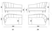 Модульный диван Berkano IPE Cavalli (Visionnaire)