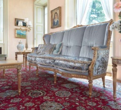 Трехместный диван 1612/D фабрика Galimberti Lino